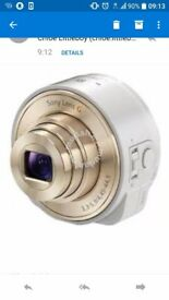 Sony attachable lense white