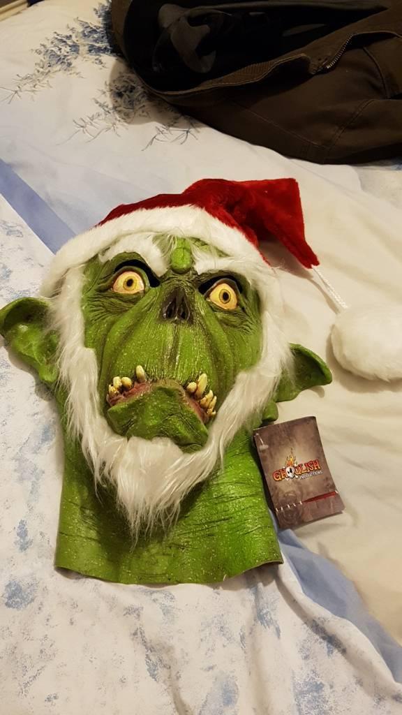Christmas grinch mask