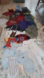Bundle of Boys Clothes 12-18 months