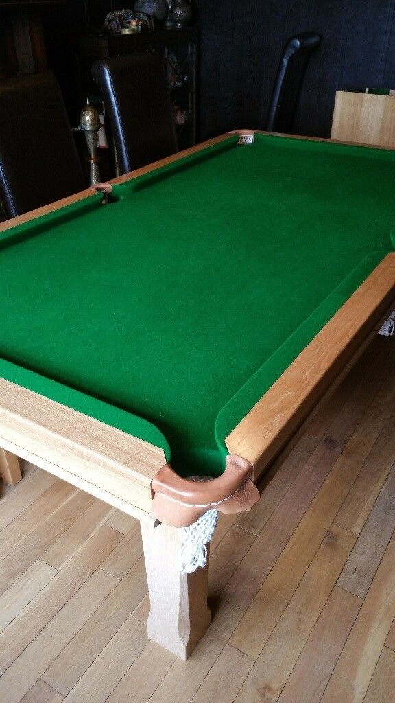 Snooker/dining table