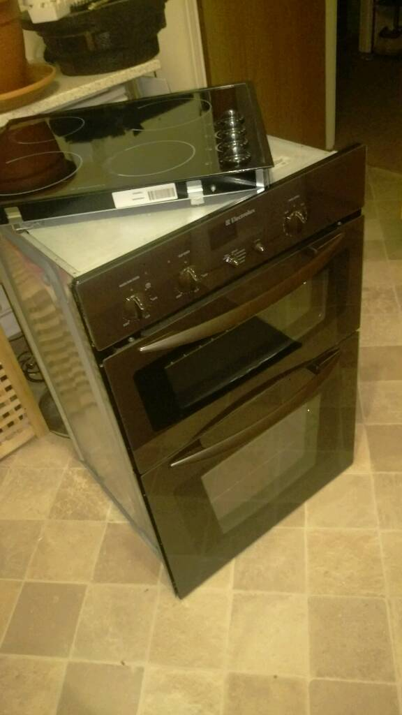 Double Oven and Hob