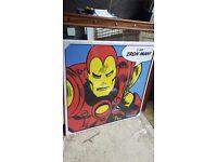 Large Iron man canvas collect E17