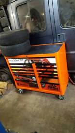 MAC TOOLS ROLL CAB MB7500 PRO SERIRS LIMITED EDITION/NOT SNAP ON