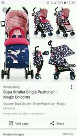 Cossatto unicorn stroller