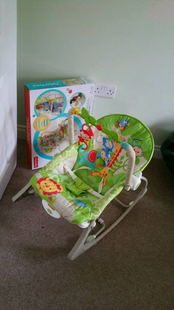Excellent fisher price bouncer / rocker boxed