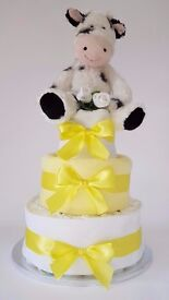 Nappy cakes for new baby / baby showers / baby girl gifts/ baby boy gifts / Christening
