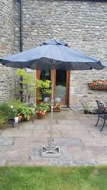 Patio Parasol and detaching stand