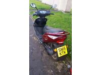 PEGASUS 50QT-4C/Only 560miles/Engine size 50CC/Like brand-new/ 550£