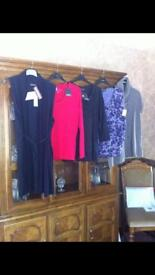 Ladies Clothes (5 Pieces) ALL BRAND NEW - All Tops & Include Woollens (Angora & Cashmere)