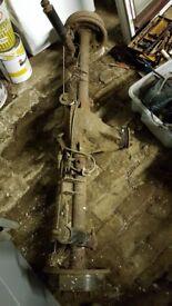 "Ford capri mk1 3.0 engish axel 50"" with brakes"