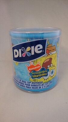 SPONGEBOB SQUAREPANTS DIXIE CUP DISPENSER/ 3&5 OZ CUPS Dixie Cup Dispenser