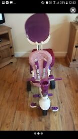 This is a 4 in one smart trike in really good condition,comes with a bag a cup holder