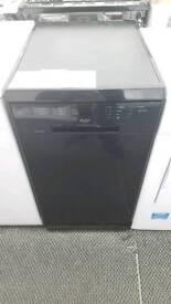 New graded Bush slimline dishwasher with 12 months guarantee