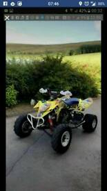 Suzuki ltr450 BREAKING NOT COMPLETE