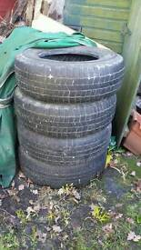 Landrover discovery 1 tyres