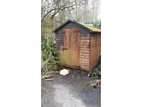 Free 8x6apex shed.