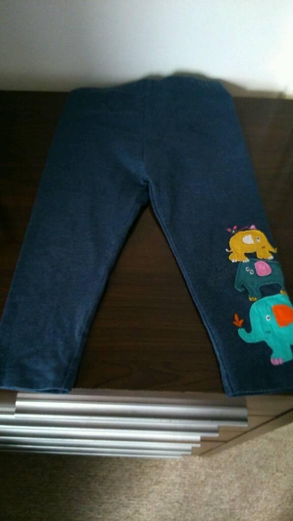 Girls blue leggings