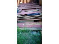 scrap fencing wood