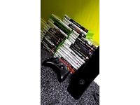 Xbox 360 and 33 games