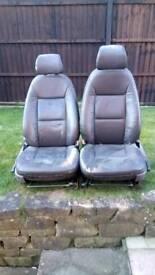 Sabb leather heated seats