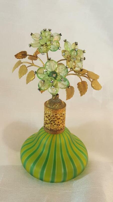 Jeweled DeVilbiss Perfume Atomizer w/ Murano Glass * Book Item