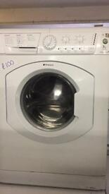 7. KG HOTPOINT WASHING MACHINE WITH GUARANTEE