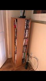 Immaculate condition cd/DVD rack
