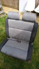 Vw t4 transporter double swivel seat