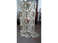 Sanderson floral curtain material 10 yards. Heavy quality