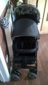 new double pushchair