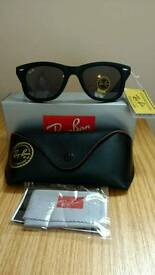 Rayban wayfarer sunglasses matte
