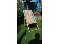 Original Retro Deck Chair