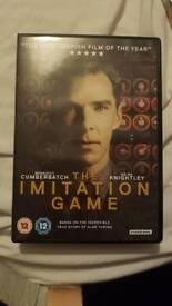 The Imitation Games DVD