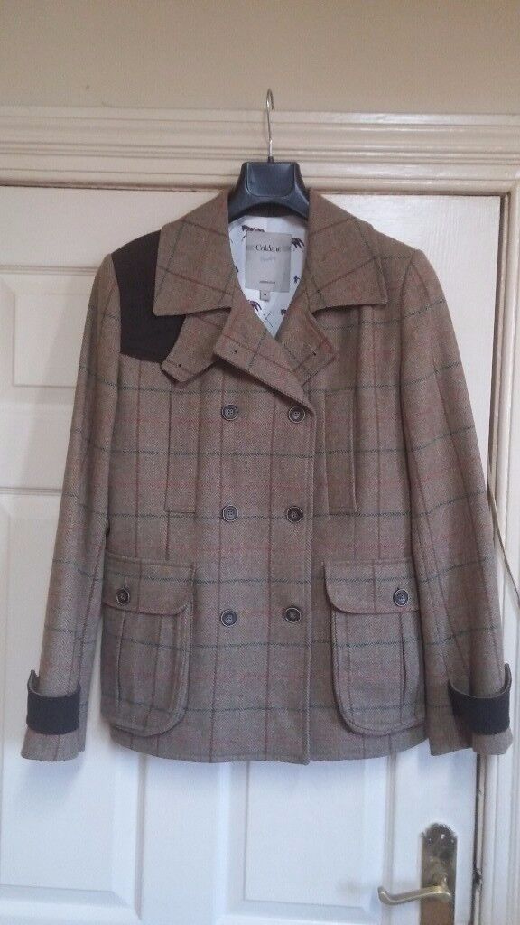New tweed coat size 14