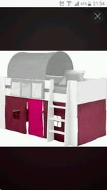 BED TENT for mid sleeper bed