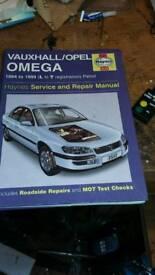 Vauxhall omega repair manual
