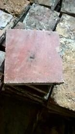 9 inch Victorian quarry tiles