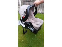 Graco travel system with car seat. From newborn upwards