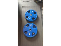 Rubber Coated Olympic Cast Iron Plates (4x20kg)