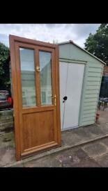 Upvc Oak Door