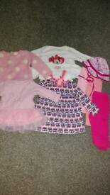 Bundle of baby girl clothes Miniclub, Next, George, EarlyDays 3-6 months