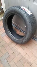 Brand new Continental tyre bought for Freelander 2 and never fitted