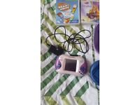 Leap Frog console and 3 x games for sale