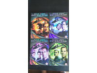 Star Trek Enterprise complete seasons 1-4 DVD boxers only watched once