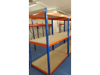 Heavy Duty Racking Warehouse Garage Storage Bays 1980(h) x 1525(w) x 915mm(d) 3 level bays