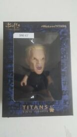 Spike - Buffy The Vampire Slayer - Titans Vinyl Figure - Mint in Box - Smoke Free Home