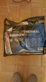T5 interior thermal window blind
