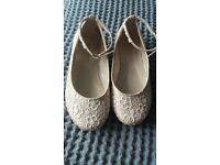 monsoon bridesmaid/flowergirl shoes
