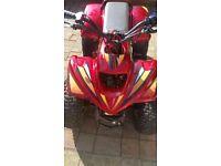 quad 50 cc ptx or swap