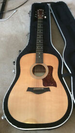 Taylor acoustic 310 dreadnought- all solid body guitar